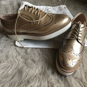 Zara's Lace up Oxford Shoes